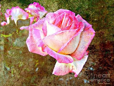 Photograph - Rustic Rose by Leanne Seymour