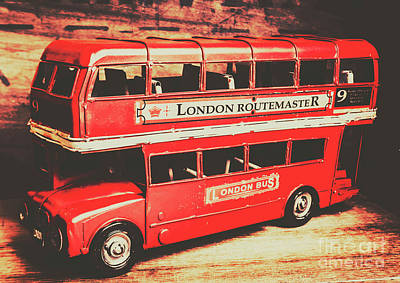 Tourism Wall Art - Photograph - Rustic Routemaster by Jorgo Photography - Wall Art Gallery
