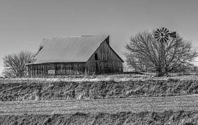Photograph - Rustic Rural Iowa by J Laughlin