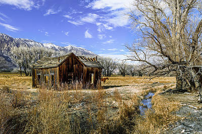 Photograph - Rustic Scene Out Of The Old West by PhotoWorks By Don Hoekwater