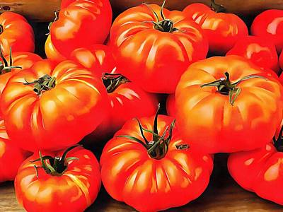 Photograph - Rustic Tomatoes by Dorothy Berry-Lound