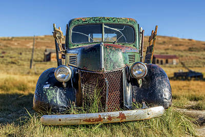Photograph - Rustic Truck by Kelley King