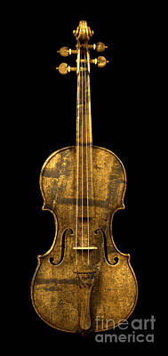 Photograph - Rustic Violin by John Stephens