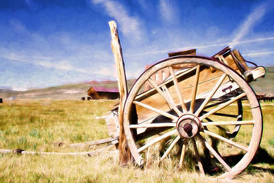 Photograph - Rustic Wagon by Lana Trussell