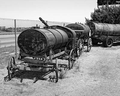 Photograph - Rustic Water Wagon by Gene Parks