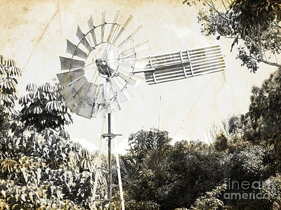Weathervane Photograph - Rustic Weathervane by Jorgo Photography - Wall Art Gallery