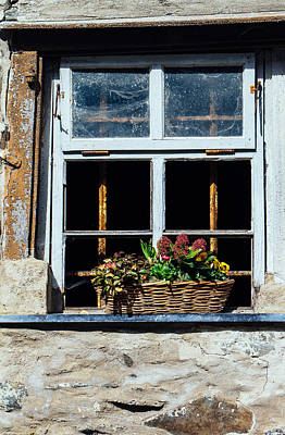 Frame House Photograph - Rustic Window by Pati Photography