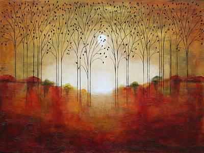 Rustic Woods Art Print