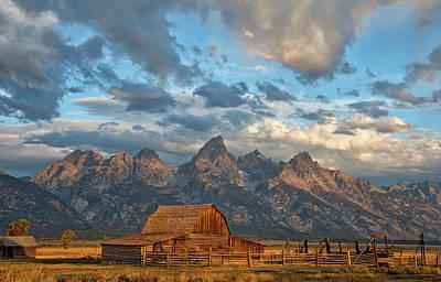 Rustic Wyoming Art Print