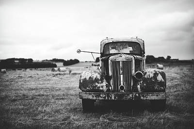 Photograph - Rusting Away In A Hayfield by Unsplash