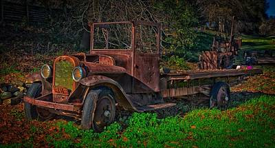 Photograph - Rusting Away In California by Mountain Dreams