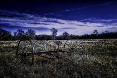 Photograph - Rusting Away In Oklahoma by David Longstreath
