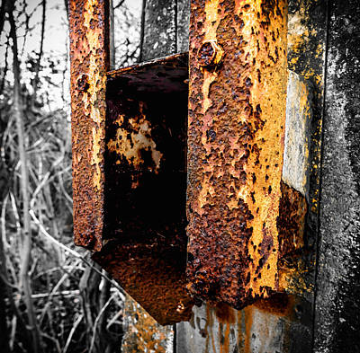 Photograph - Rusting Away by Nick Bywater