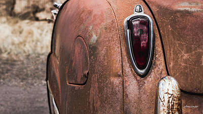 Photograph - Rusting Away by Steven Milner