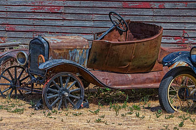 Photograph - Rusting Away by Thomas Hall