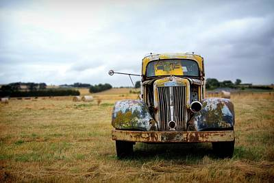 Rusting Art Print by Ca Photography
