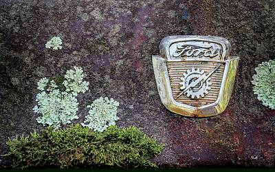 Photograph - Rusting Classic Ford by Patrice Zinck