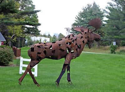 Elk Rapids Photograph - Rusting Moose by Scott Ward