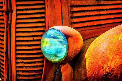 Dodge Truck Wall Art - Photograph - Rusting Old Dodge by Garry Gay