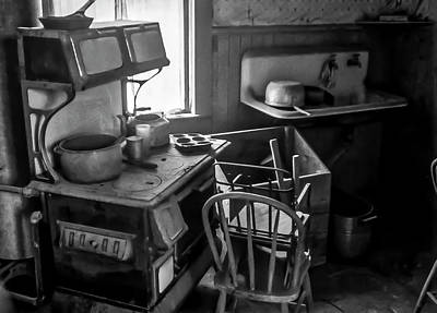 Rusting Pots And Pans, Bodie Ghost Town Art Print