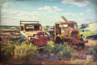 Photograph - Rusting Truck 2 by Stuart Row