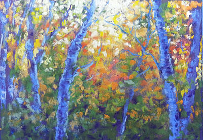 Painting - Rustlers Gulch Afternoon by Becky Chappell