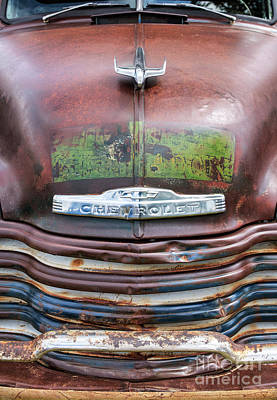 Chevrolet Pickup Photograph - Rusty 49 by Tim Gainey