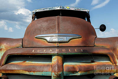 Photograph - Rusty '55 by Dennis Hedberg