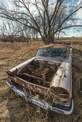Print featuring the photograph Rusty by Aaron J Groen