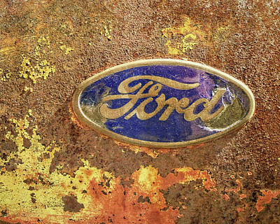 Photograph - Rusty Badge by David King