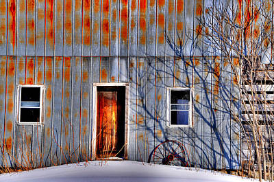 Photograph - Rusty Barn by Emily Stauring