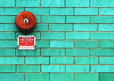 Alarm Photograph - Rusty Bell by Todd Klassy