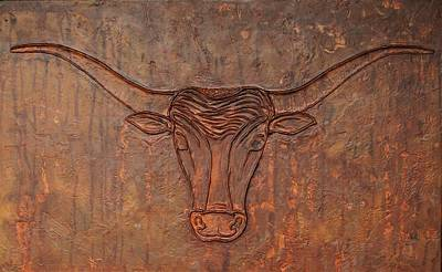Painting - Rusty Bevo by Sandy Dusek