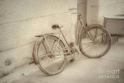 Photograph - Rusty Bicycle by Imagery by Charly