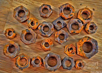 Photograph - Rusty Bolts 3 by Debbie Portwood