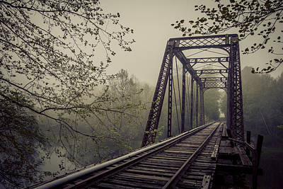 Photograph - Rusty Bridge by William Schmid