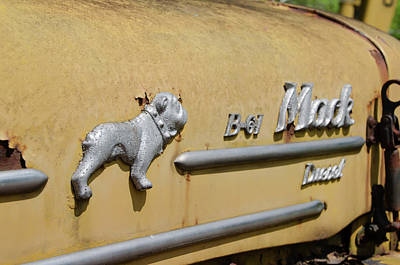 Photograph - Rusty Bulldog - Mack Truck by Bill Cannon