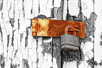 Photograph - Rusty But Secure by Nikolyn McDonald