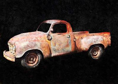Painting - Rusty But Trusty by Anne Sands