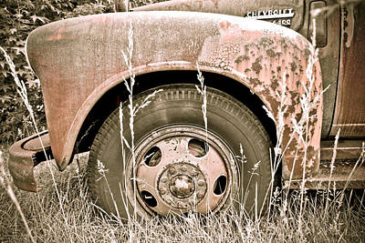 Photograph - Rusty But Trusty by Julie Niemela