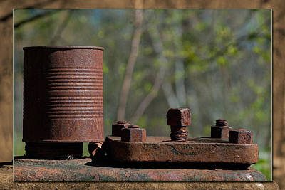 Photograph - Rusty Can by WB Johnston