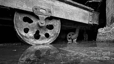 Rusty Cart Original by Patrick M Lynch