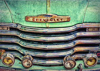 Photograph - Rusty Chevy by Lewis Mann