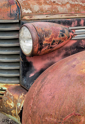 Photograph - Rusty Classic by Denise Bush