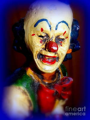 Photograph - Rusty Clown by Ed Weidman