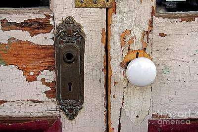 Photograph - Rusty Crusty Door by Patricia Strand