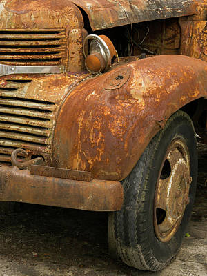 Photograph - Rusty Dodge - 365-106 by Inge Riis McDonald