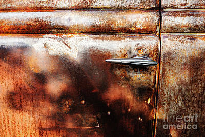 Photograph - Rusty Door 2 by M G Whittingham