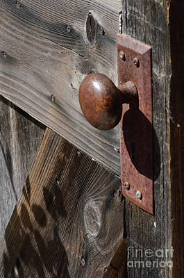 Photograph - Rusty Doorknob  by Debby Pueschel