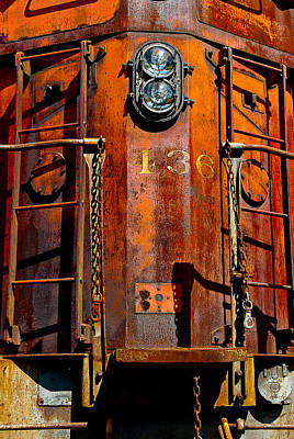Photograph - Rusty Engine by Harry Spitz